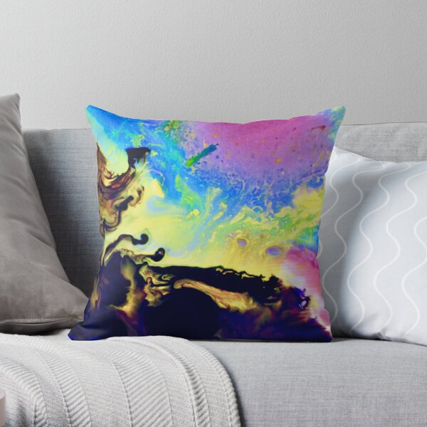 Magie abstraite 7 Throw Pillow