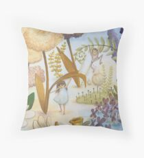 Garden Sized  Throw Pillow