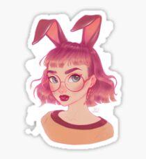 Hase Sticker