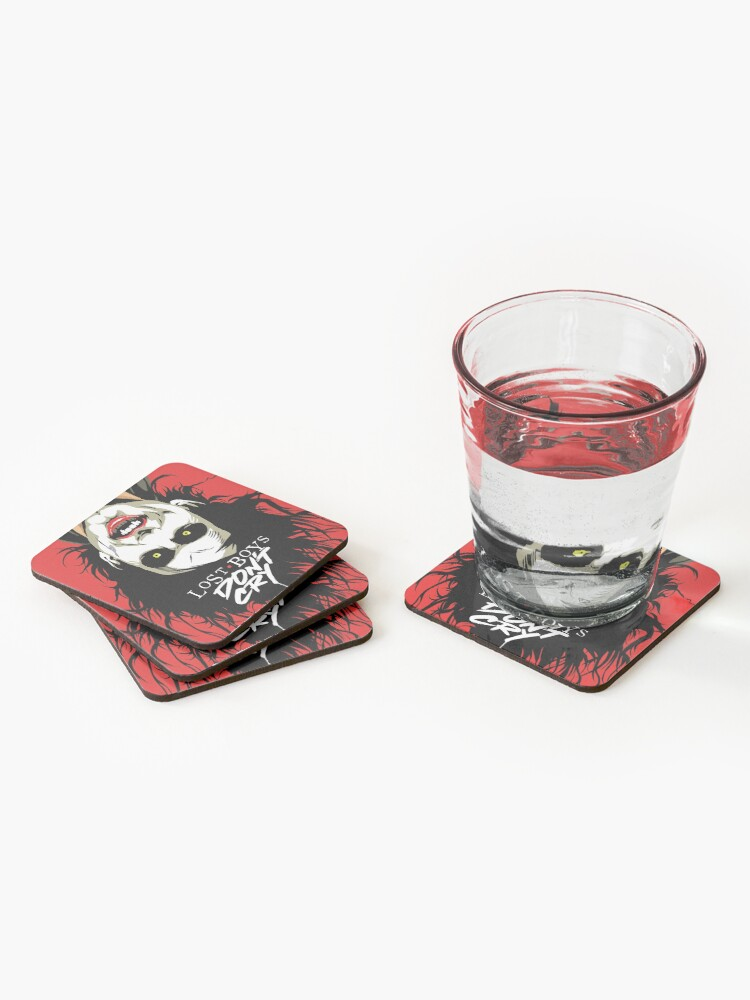 Alternate view of Cry Boys Coasters (Set of 4)