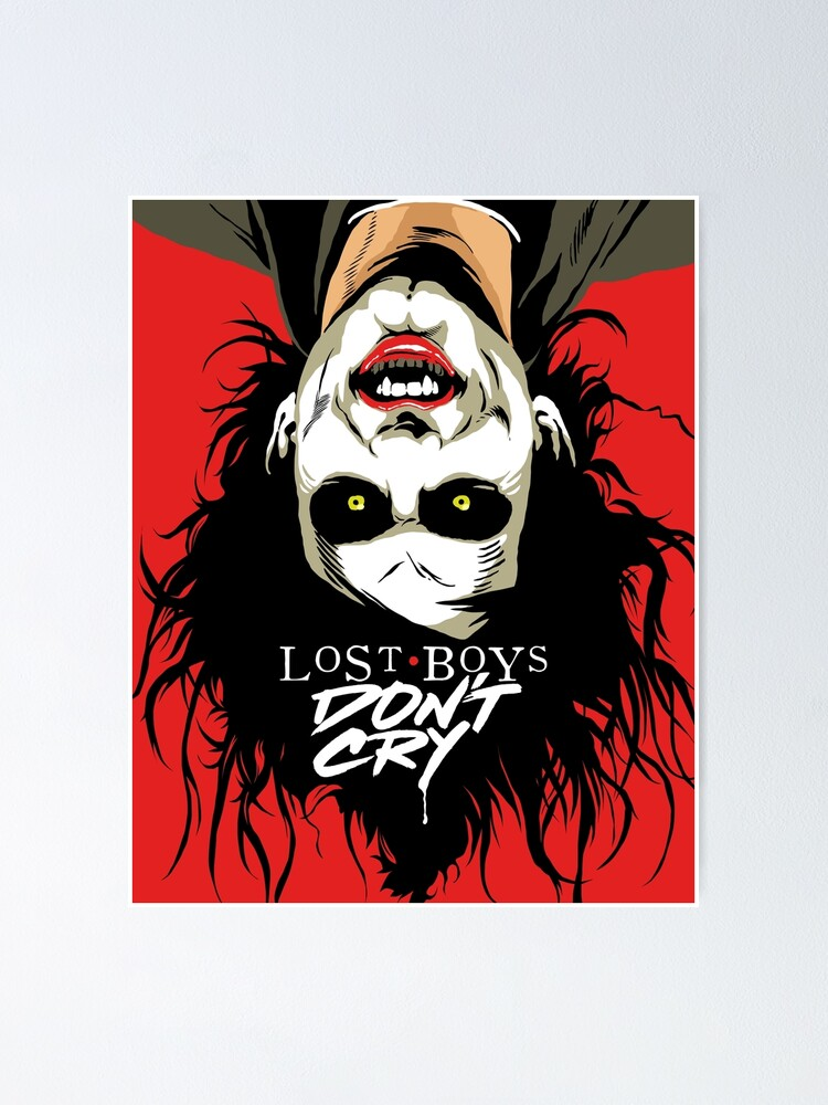 Alternate view of Cry Boys Poster