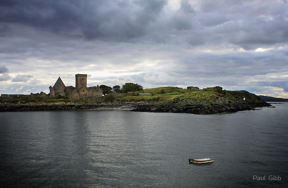 Inchcolm Island and Abbey by Paul  Gibb