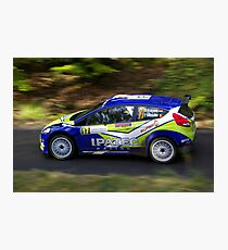Rally of France 2010 Kuipers D. Photographic Print