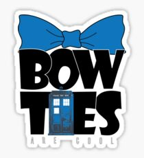 Bowties are Cool Sticker