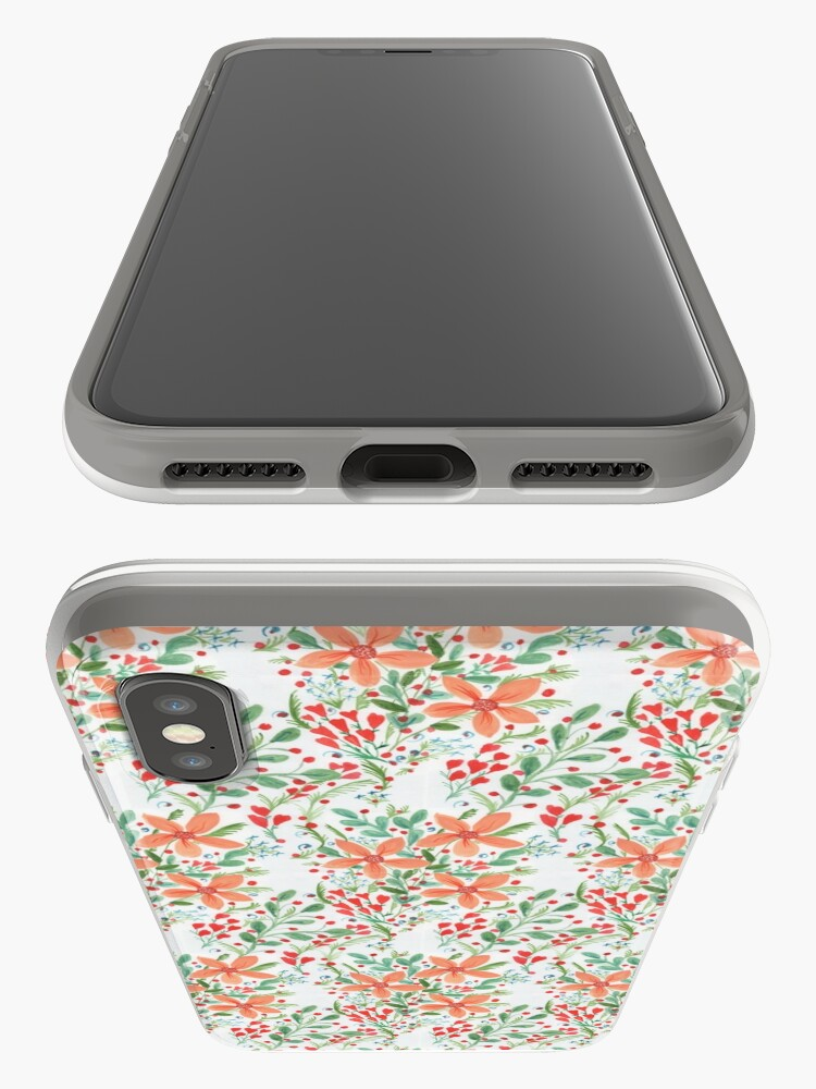 Alternate view of Floral Delights iPhone Case & Cover