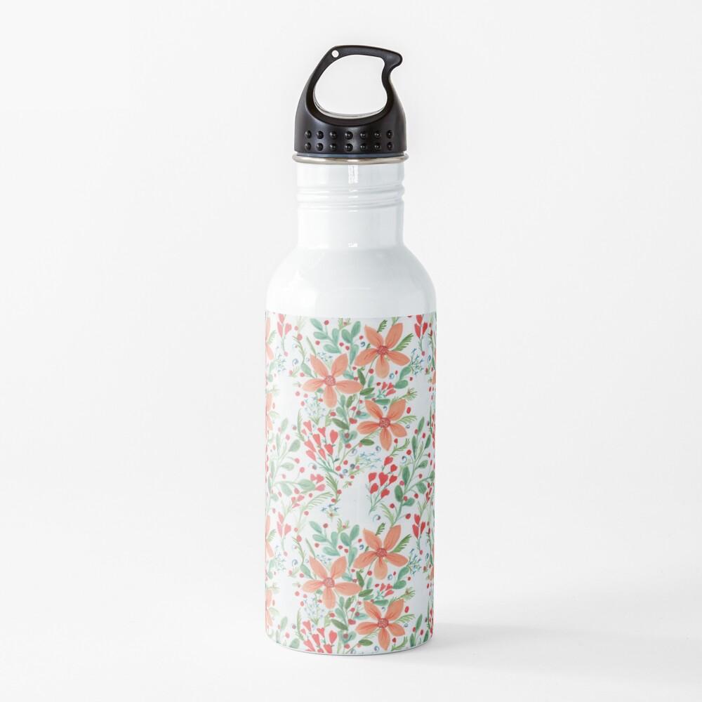 Floral Delights Water Bottle