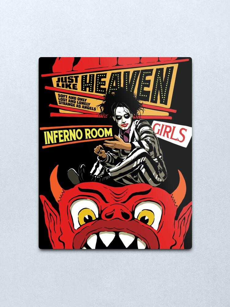 Alternate view of Heaven Metal Print