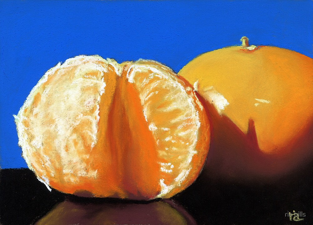 Quot Clementine Oranges Still Life Painting Quot By Ria Hills
