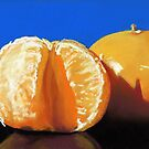 clementine oranges- still life painting by ria hills