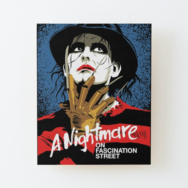 The Nightmare Wood Mounted Print