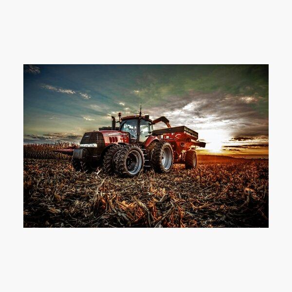 Catching Corn Photographic Print