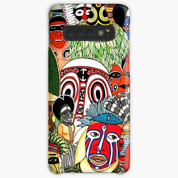 #258 - NATHALIE LE RICHE - ART and GIFTS - PAPUA NEW GUINEA CULTURE and TRIBES - Unique PNG Culture I  Samsung Galaxy Snap Case