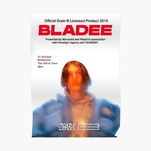 bladee poster  Poster