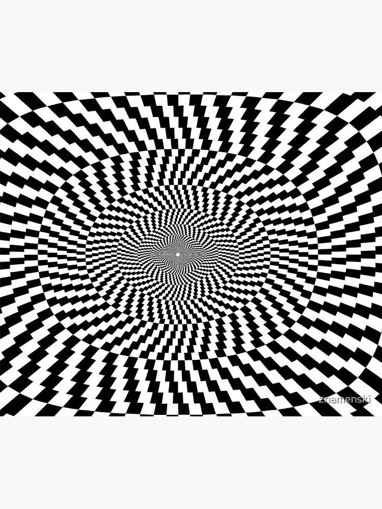 #OpArt #VisualArt #IllusionArt #OpticalIllusion #VisualIllusion #CognitiveIllusion  by znamenski