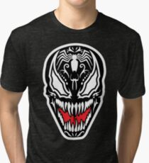 Venom Sugar Skull Tri-blend T-Shirt