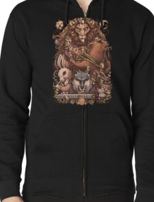 ARMELLO - Battle for the crown Zipped Hoodie
