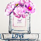 Pink perfume by Yulianna-ca