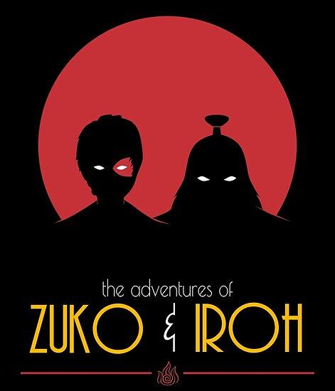 Die Abenteuer von Zuko und Iroh von Geradrum