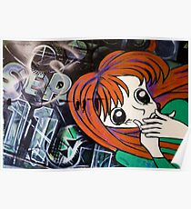 September 11th Graffiti - Brisbane CBD Poster