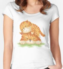 Family of tabby Women's Fitted Scoop T-Shirt