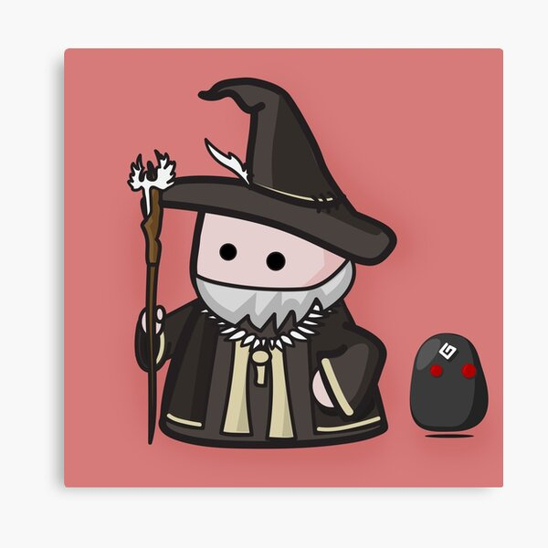 Icono de mago - BDO Lienzo