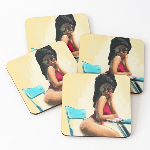Women in Towels I - Kuty Coasters (Set of 4)