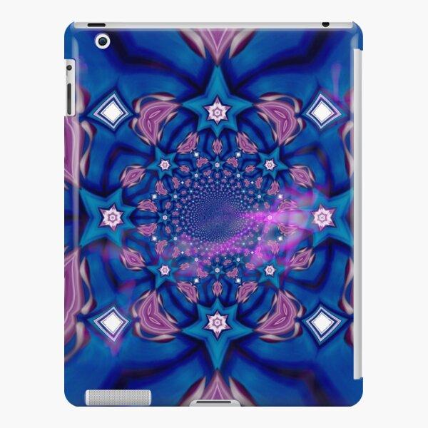 Blue fractal iPad Snap Case