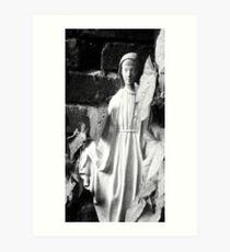 Mary of the Garden I Art Print
