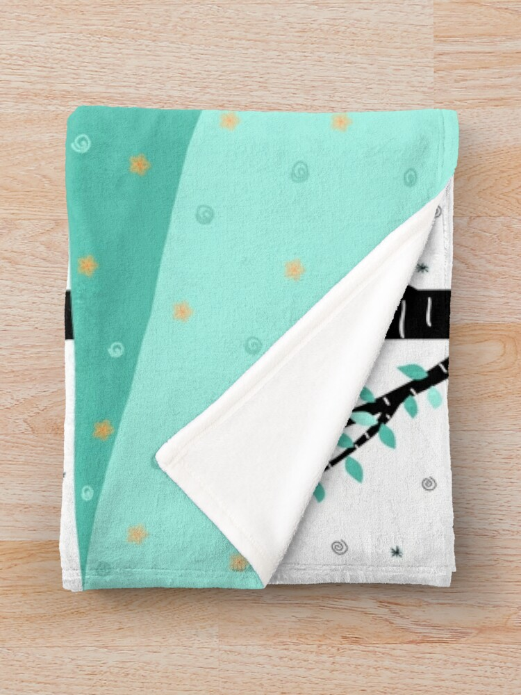 Alternate view of Over The Garden Wall - Wirt Throw Blanket