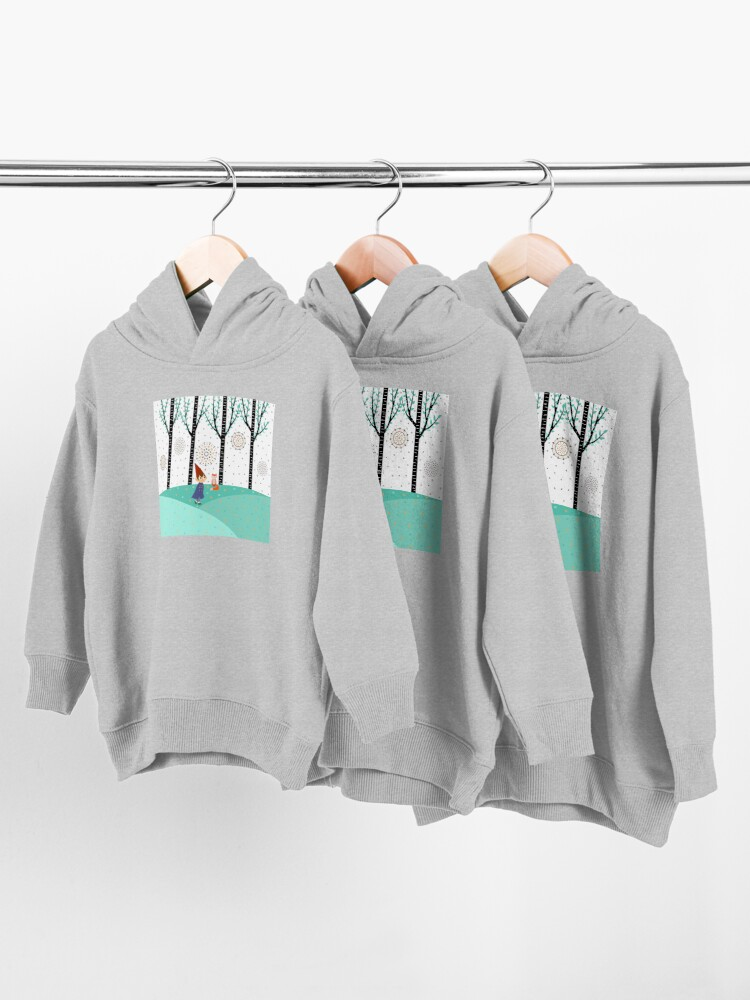 Alternate view of Over The Garden Wall - Wirt Toddler Pullover Hoodie