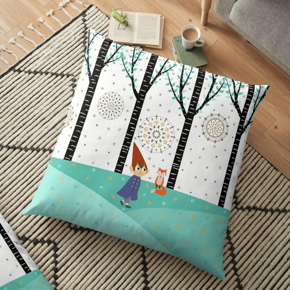 Over The Garden Wall - Wirt Floor Pillow