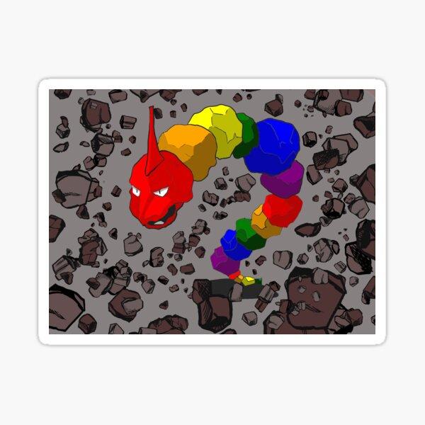 Rainbow Onyx Pride Pokemon Sticker