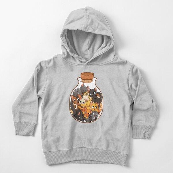 Bottle of Cats Toddler Pullover Hoodie