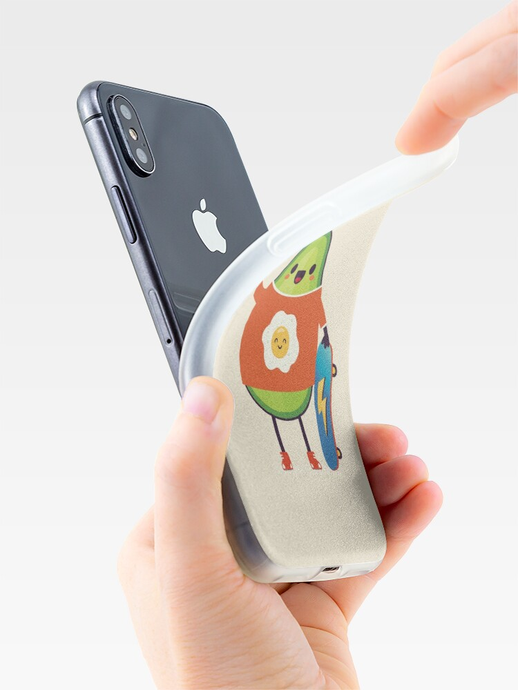 Alternate view of Avo-Kiddo iPhone Case & Cover