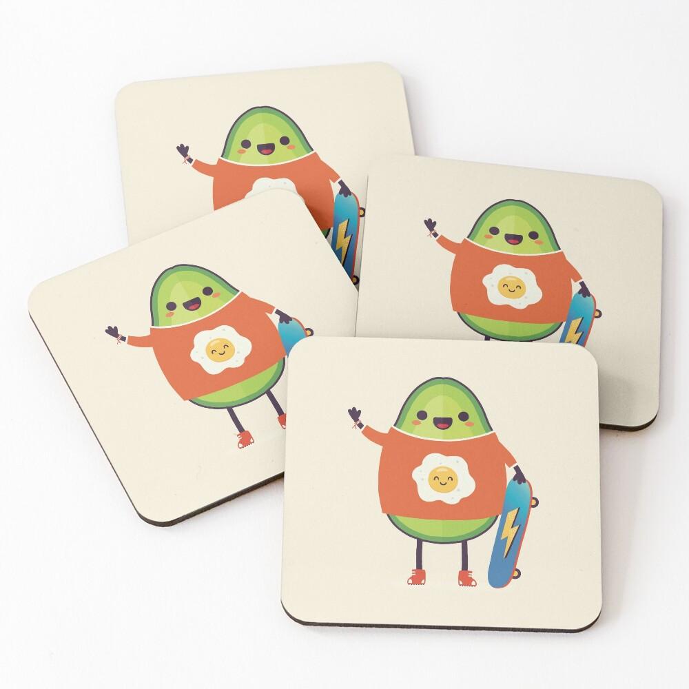 Avo-Kiddo Coasters (Set of 4)