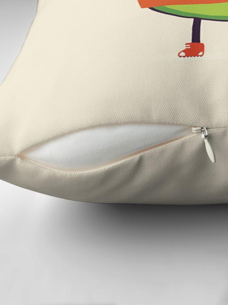 Alternate view of Avo-Kiddo Throw Pillow