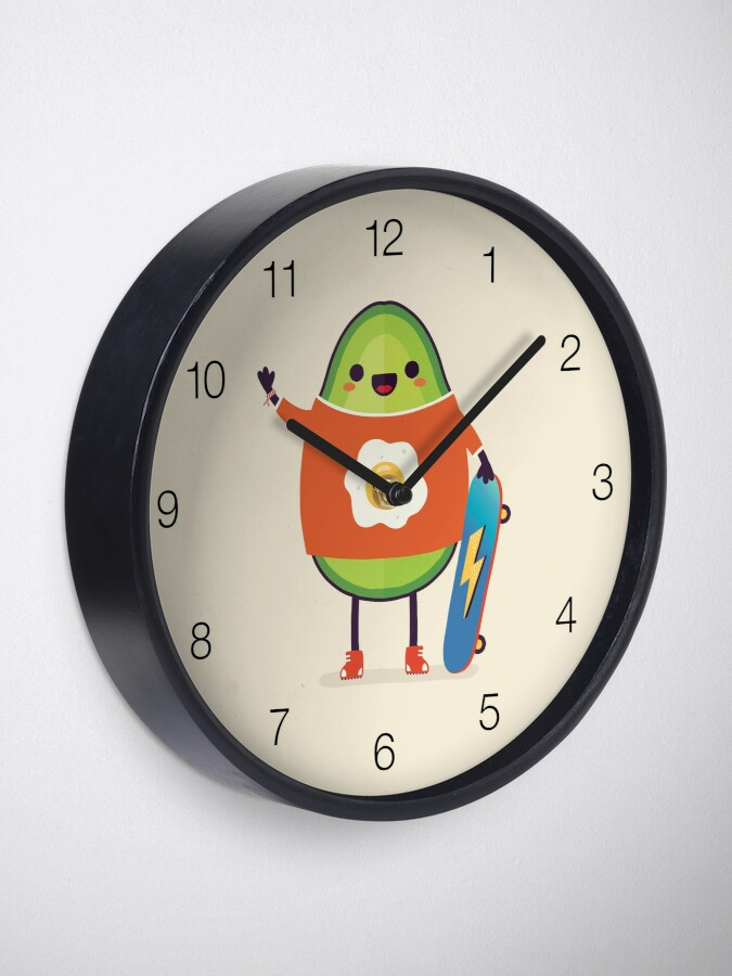 Alternate view of Avo-Kiddo Clock