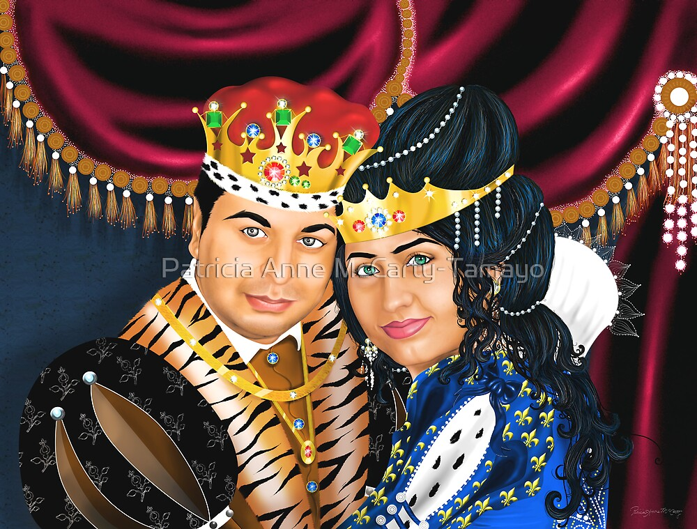 The Royal Couple by Patricia Anne McCarty-Tamayo