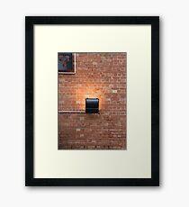A Wall Framed Print