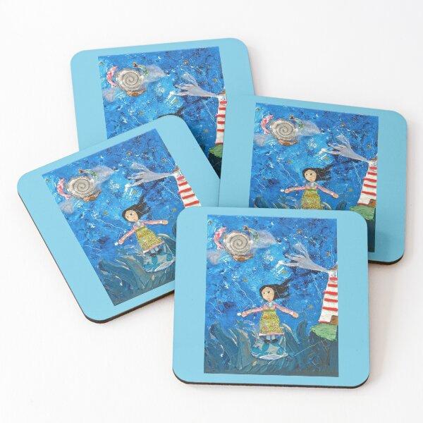 Sea Dream Coasters (Set of 4)