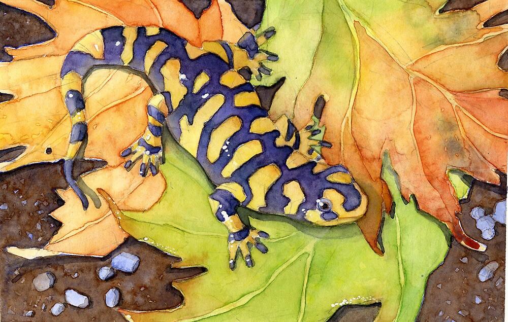 Tiger Salamander by Greg  Marquez
