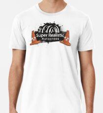 Super Realistic Autocross Scared Cones Logo Premium T-Shirt