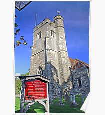 St Martins Church, Ryarsh Poster