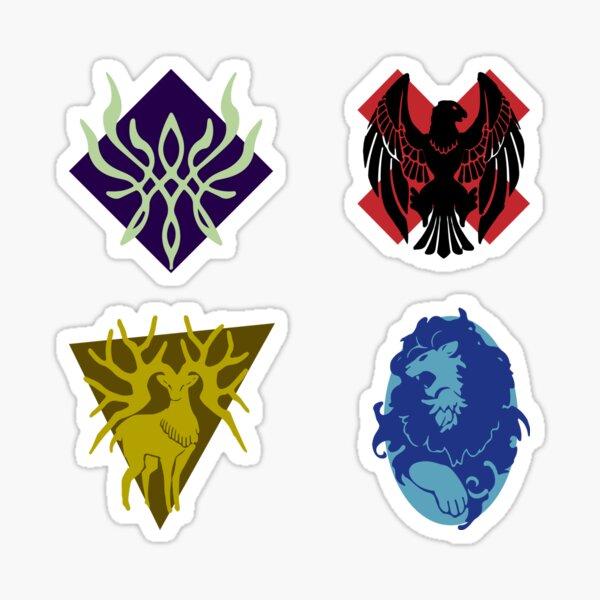 House Symbols Sticker