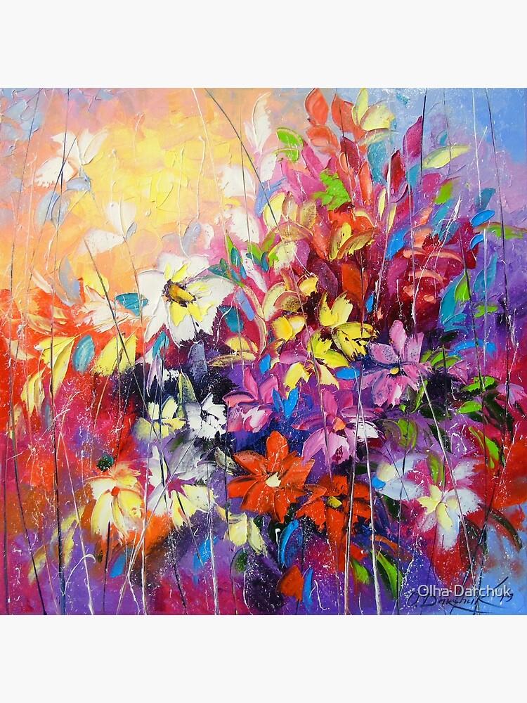 Dance of flowers by Olyha