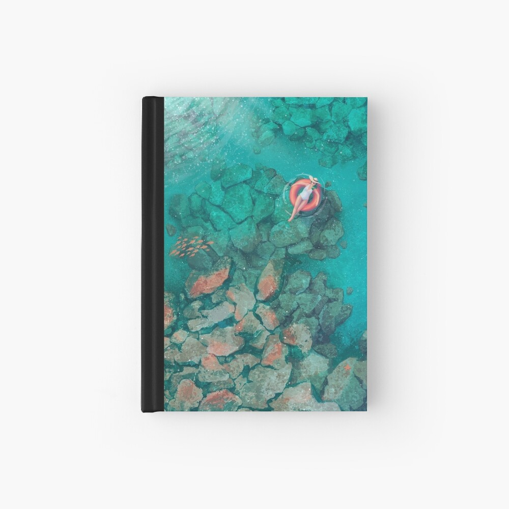 Saltwater Summer Hardcover Journal