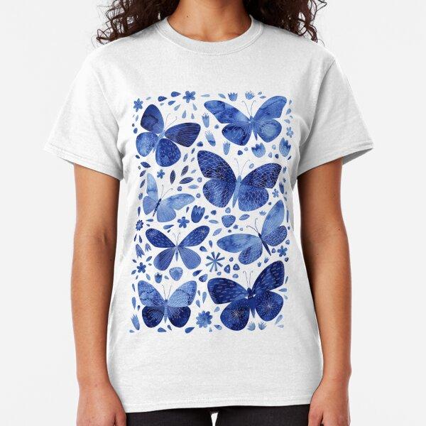 Blue Butterflies Classic T-Shirt