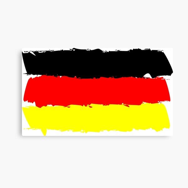 Deutschland Flagge Leinwanddruck