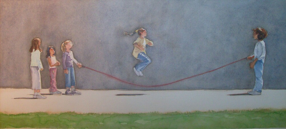 Jump rope by Greg  Marquez