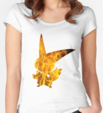 Victini used overheat Women's Fitted Scoop T-Shirt